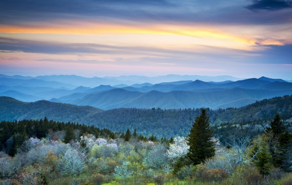 Blue Ridge Mountains | Amerika.cz