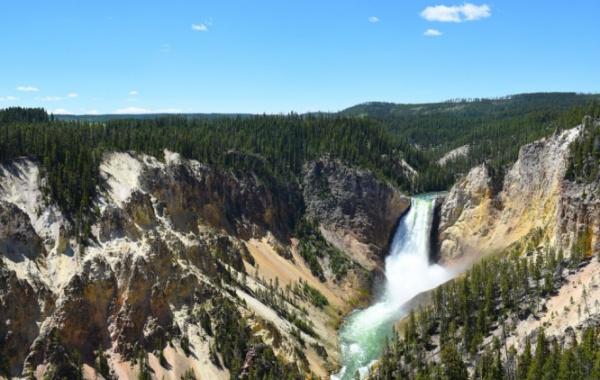 Yellowstoneské vodopády