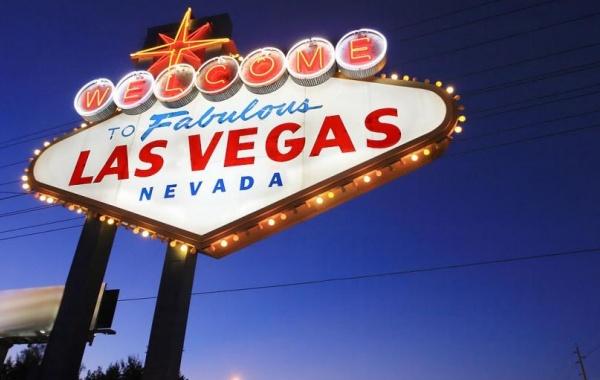 Las Vegas - městský poutač