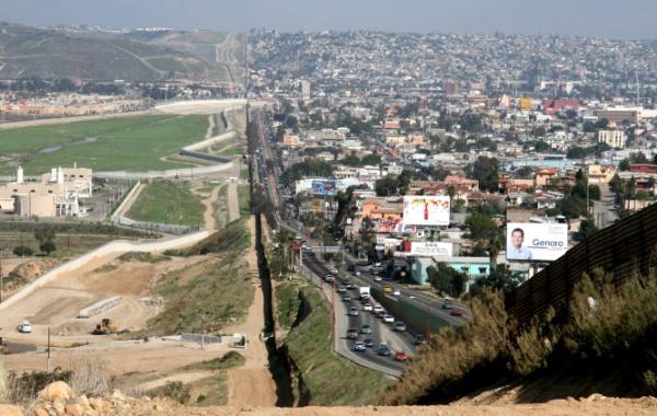 USA vs. Mexiko #Cestování