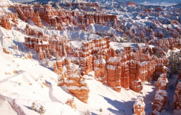 Bryce Canon - zimní období