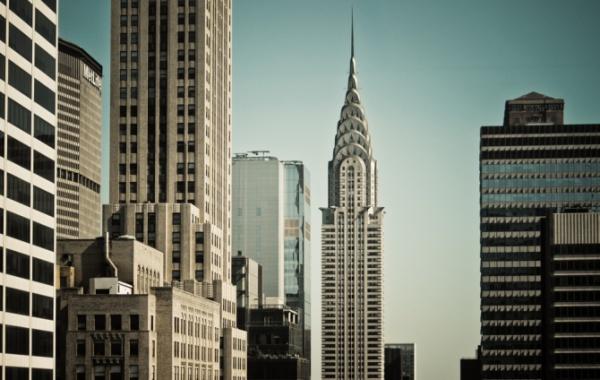 Chrysler Building na Manhattanu stojí už od roku 1930.