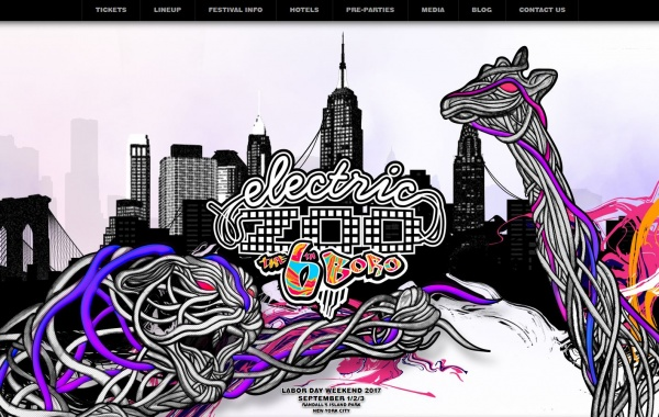 Electric Zoo Festival 2017
