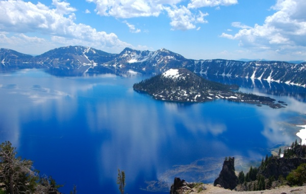 Crater Lake, Oregon - Amerika.cz