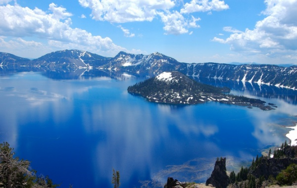 Crater Lake Volcano
