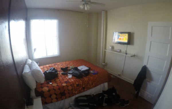 Hotelový pokoj v Los Angeles