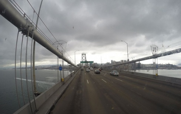 Bay Bridge v San Franciscu