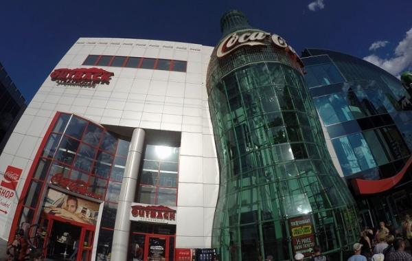 Coca Cola na Las Vegas Boulevard