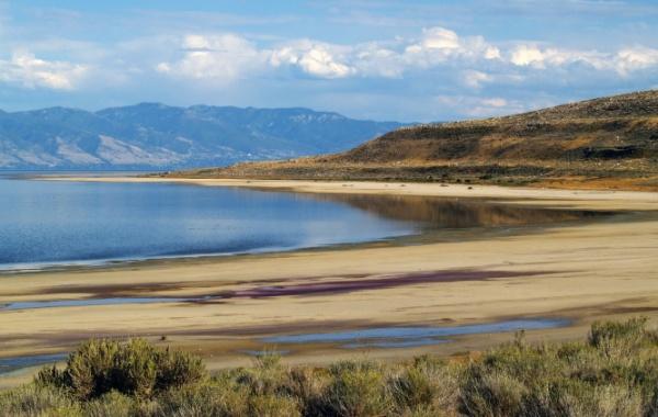Utah - Velké solné jezero