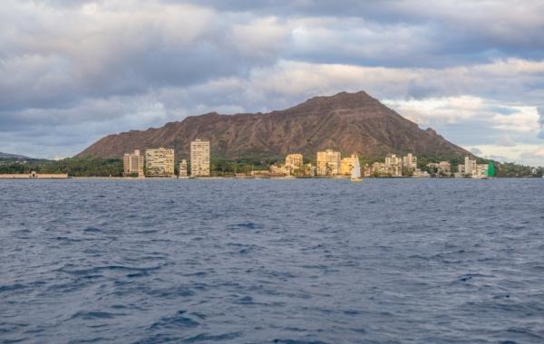 Honolulu - diamantová hlava