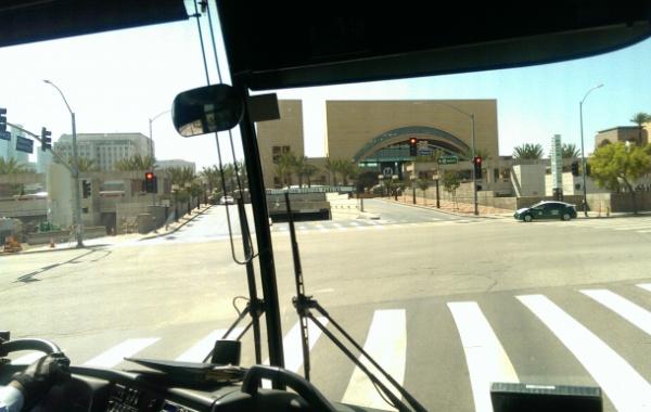 Cesta z letiště v Los Angeles