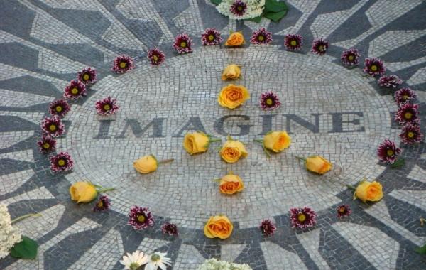 Central Park v New Yorku - místo úmrtí Johna Lennona
