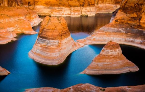 Lake Powell, Utah, Arizona - Amerika.cz