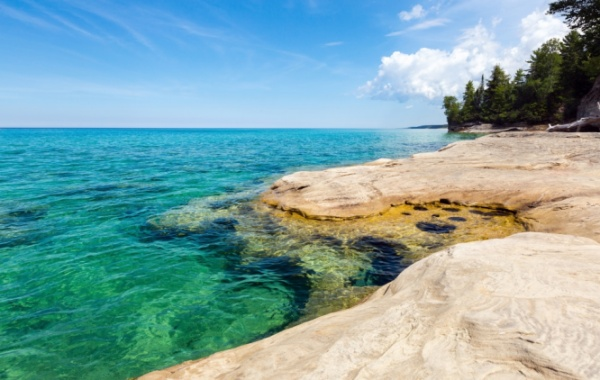 Lake Superior, Michigan, Minnesota, Wisconsin - Amerika.cz