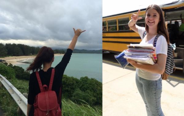 Studium v Americe - holky
