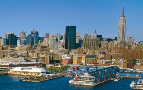 New york - výhled Manhattan