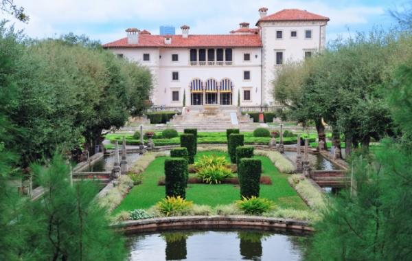 Nádherná renesanční vila Vizcaya