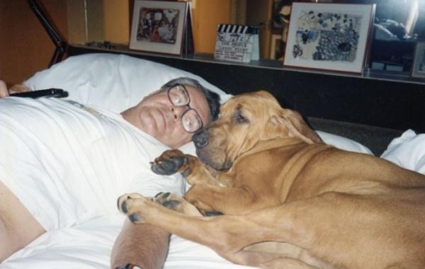 Miloš Forman a pes
