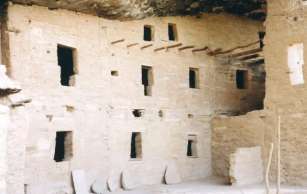 Spruce Tree House v komplexu Mesa Verde