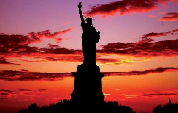 New York City - socha svobody
