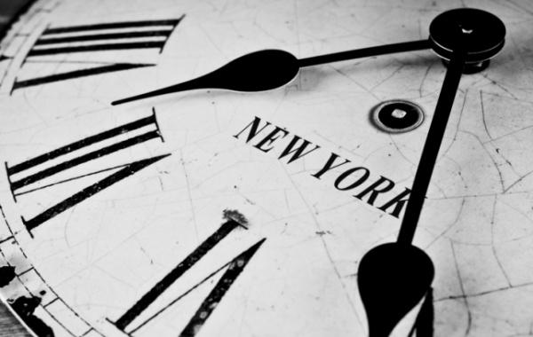 New York a starodávné hodiny