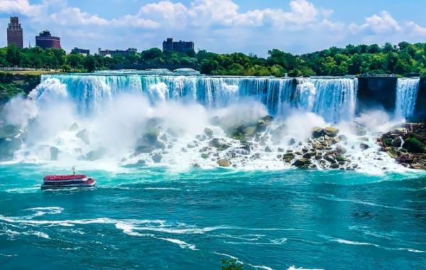 Niagarské Vodopády v New Yorku