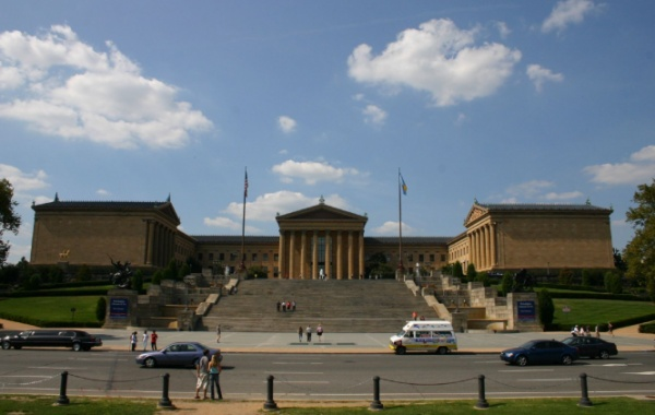Filadelfie Rockyho schody