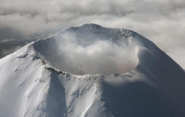 Mount Shishaldin na Aljašce.