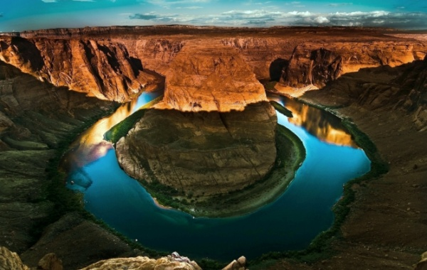 meandr Colorado v Horseshoe Bend
