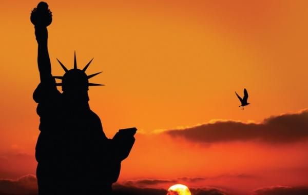 Socha Svobody láká každého návštěvníka USA