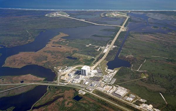 Cape Canaveral z výšky