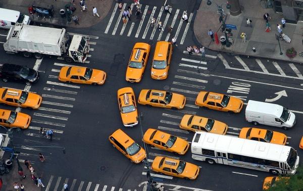 Taxi v New Yorku
