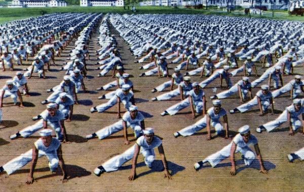 Americké námořnictvo pohlednice