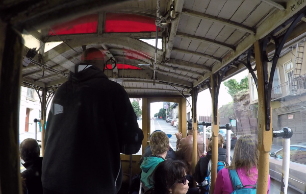 Tramvaj v San Franciscu
