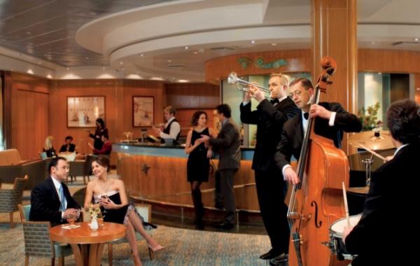Zábava na lodi Queen Mary 2