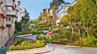 Lombard ulice v San Franciscu