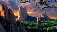 Zahrada bohů v Colorado Springs