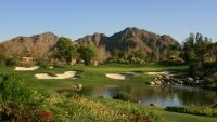 Golfové hřiště v Palm Springs v Kalifornii