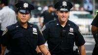 Policisté v ulicích New Yorku