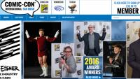 Comic-con website
