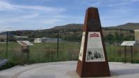 Oregonská stezka monument