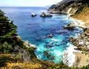 Pláž v městečku Carmel by the Sea, Kalifornie - Amerika.cz