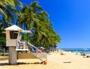 Pláž u městě Honolulu, Havaj - Amerika.cz