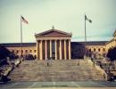 Rockyho schody ve Filadelfii