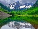Ať je teplo, nebo mráz, Aspen skýtá plno krás
