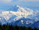 Mt. Denali, nejvyšší hora Severní Amerika.