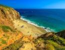 Pláž Pirate's Cove v Kalifornii