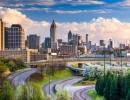 Panorama downtownu Atlanty, Georgia, USA - Amerika.cz