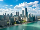 Úžasná silueta Chicaga