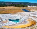 Nejkrásnější americký národní park je v zimě Yellowstone